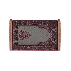MEMORY FOAM PRAYER RUG INNOVATIV RED