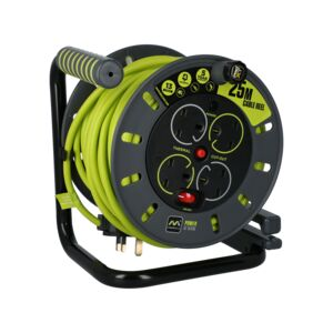 EXT REEL 4WAY 25M 13AMP PROXT MASTERPLUG
