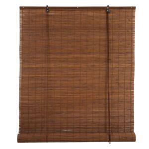 BLINDS ROLL 90X180CM BAMBOO BROWN