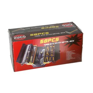 TOOLS SET 58PCS in METAL BOX ZUCO