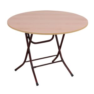 TABLE ROUND 90CM DIA. X 74CM H FOLDABLE