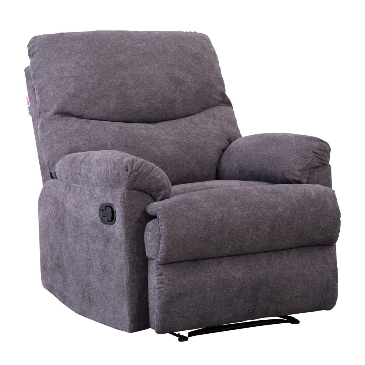 كرسي استرخاء 84 99 99سم رمادي Micasa العلامات التجارية Saco Store