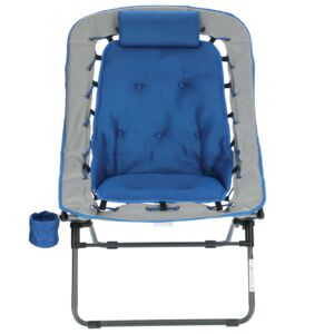 CHAIR BUNGEE RECT. TYPE W/GLASS HOLDER