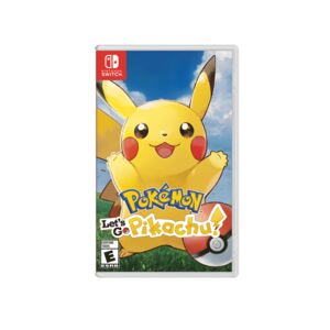 POKEMON LET'S GO, PIKACHU-NS-GAME