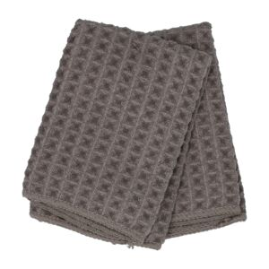 KITCHEN TOWEL 2PC 30X30CM WAFFLE TAUPE