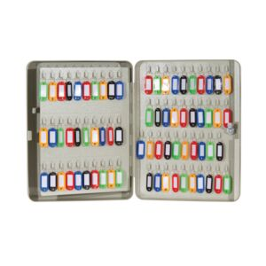 KEY BOX 140 HOOKS LIGHT BEIGE