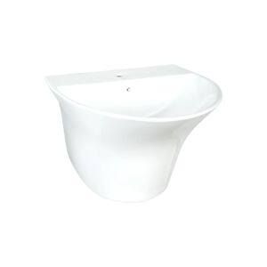 WASH BASIN POP 57X49X40CM WHITE