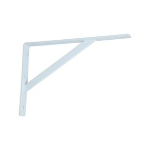 "SHELF BRACKET 12"" HEAVY DUTY WHITE"