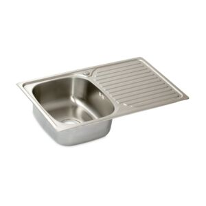 KITCHEN SINK SINGLE 80x48x18CM SS BL-834