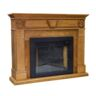 FIREPLACE WOOD MANTEL 900/1800W 220-240V