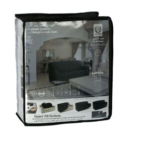 SOFA COVER 3 SEATER DAMARA GREY