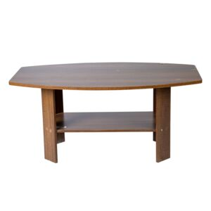 COFFEE TABLE 90X54.5X41.3CM WALNUT