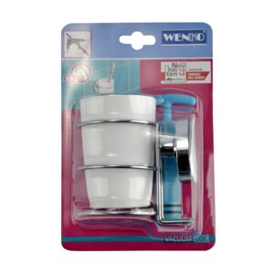WALL TOOTHBRUSH CUP VACUUM LOC MILAZZO