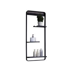 SHELF NICE 100X40X12CM BLACK