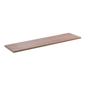 "SHELF 10x36x5/8"" WOOD LAMINATED WALNUT"