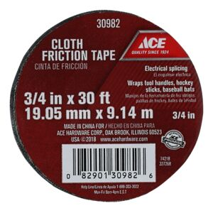 ELECTRICAL TAPE 3/4''X30' FRICTION ACE