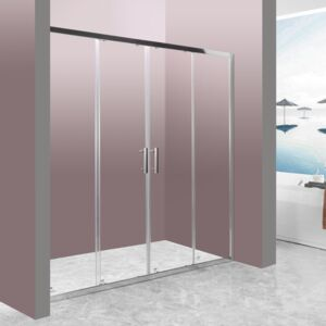 SHOWER DOOR MULSANNE SLIDE 180X190CM 6MM