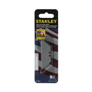 SPARE BLADE 5PCS UTILITY 11 921 STANLEY