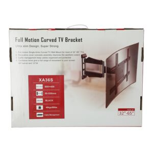 TV BRACKET 32IN-65IN CURVED WALL MOUNTED