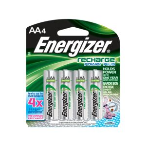 Energizer Rechargeable Battery 4AA/CD