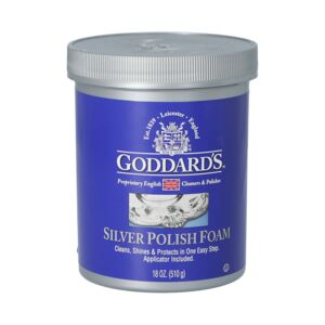 SILVER FOAM CLEANER 18oz GODDARDS