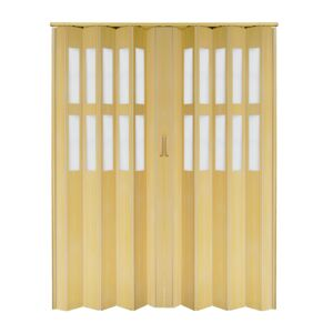 DOOR FOLDING DBLE 6MM 160X205CM PVC PINA