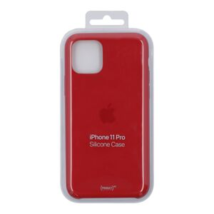 IPHONE 11 PRO SILICONE CASE RED
