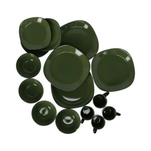 DINNER SET 16PCS BALI GREEN