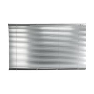 "BLINDS 150X180CM 1"" MINI ALUM SILVER"
