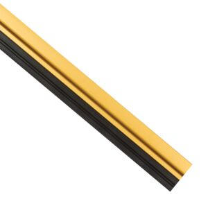 DOOR BOTTOM 1M PVC RUBBER ADHSV GOLD ACE