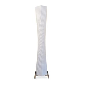 FLOOR LAMP E27 2X40W PE WHITE C50077
