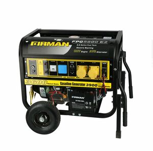 GENERATOR 3600-3900W SURGE 110/220V FIRM