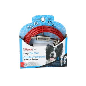 DOG TIE OUT 30' LRG CABLE
