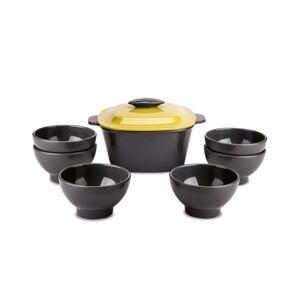 BOWL SOUP SET 8PCS MELAMINE