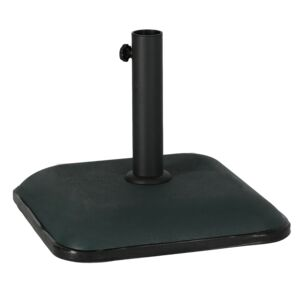UMBRELLA BASE SQUARE CONCRETE 25KG D.GRN