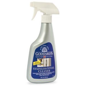 STAINLESS STEEL CLEANER 16oz GODDARDS