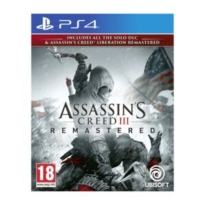 PS4 GAME ASSASSIN'S CREED 3 REMASTER