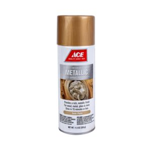 SPRAY PAINT 11oz METALLIC GOLD ACE