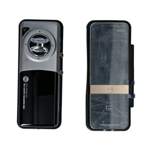 DIGITAL GLASS DOOR LOCK W/PROXIMITY CARD