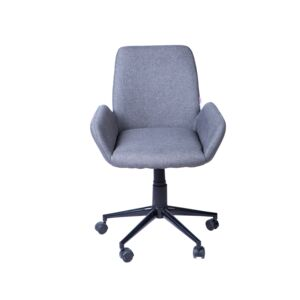 OFFICE CHAIR GREY FABRIC