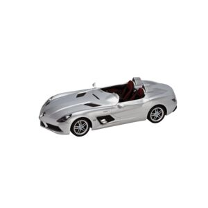 CAR RC MODEL MERCEDES SLVER