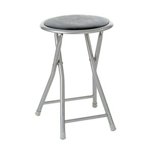 STOOL FOLDABLE 30X30X45CM 054L BLACK