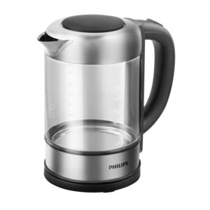 KETTLE 1.5L 2200W VIVA GLASS PHILIPS