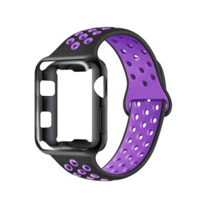 APPLE WATCH BAND 40MM SPORT PURPLE BLACK