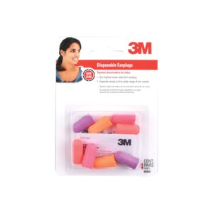 HEARING PROTECTOR 4PAIR EARPLUG