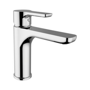BASIN MIXER FAUCET MEDIUM CHROME