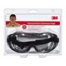 SAFETY GOGGLES IMPACT/CHEMICAL SPLASH 3M