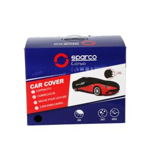 CAR COVER NON-WOVEN XXL1 BLACK SPARCO
