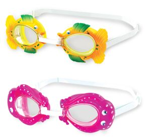 SEA PALS ANIMAL FRAME SWIM GOGGLE