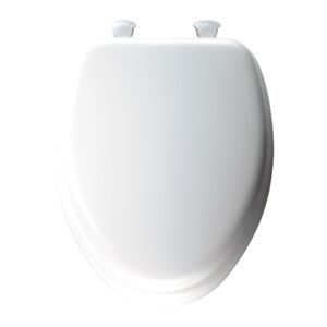 TOILET SEAT PREM DELUXE ELONGATED WHITE